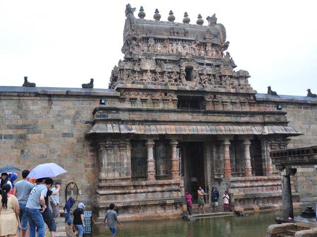 Templo Darasuram - entrada