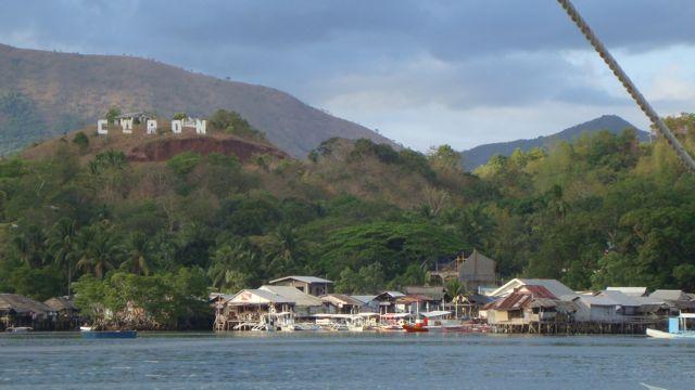 Pueblo de Coron donde estuvimos en 2010 y que ha sufrido el tifón Haiyan